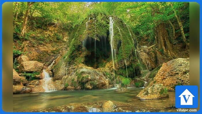 آبشار اسپه او بهشهر ویلاطور