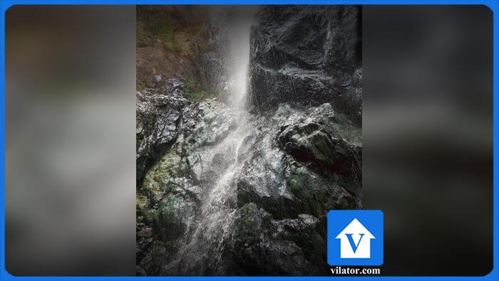 آبشار اکاپل چالوس ویلاطور