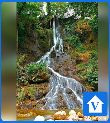 آبشار سمبی بهشهر ویلاطور