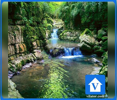آبشار کوهسر تنکابن ویلاطور