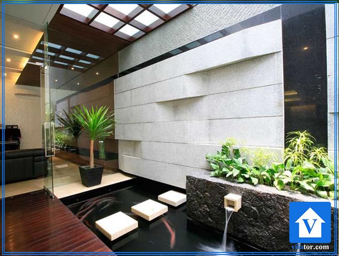 حوض و آبنما در طراحی داخلی ویلاطور