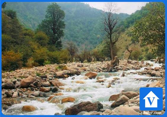 رودخانه های چالوس ویلاطور