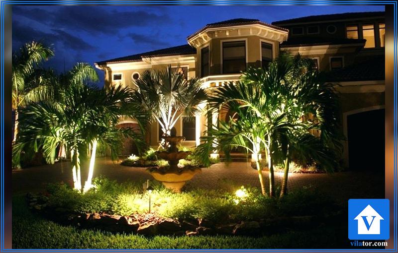 روشنایی باغ ویلاطور