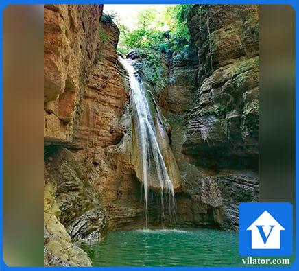 آبشار سنگ نو بهشهر ویلاطور