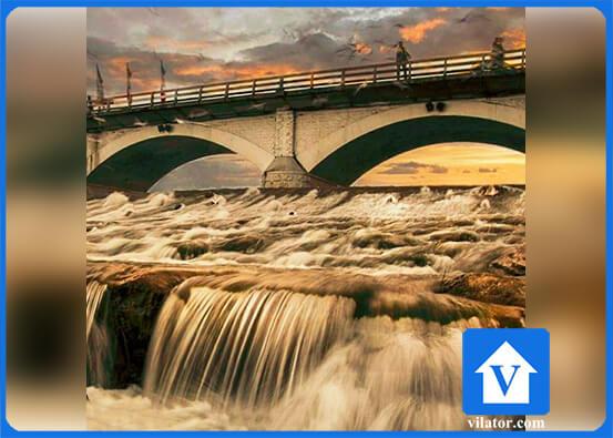 پل چشمه کیله تنکابن ویلاطور