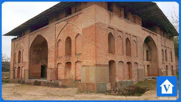 چشمه عمارت بهشهر ویلاطور