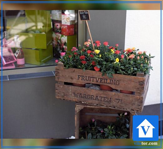 گلکاری جعبه چوبی ویلاطور