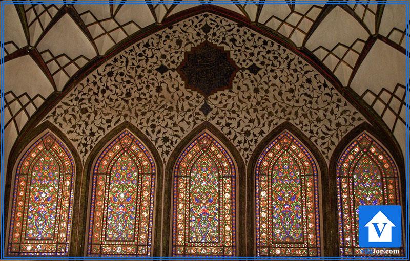 سقف نقاشی اتاق شاه نشین