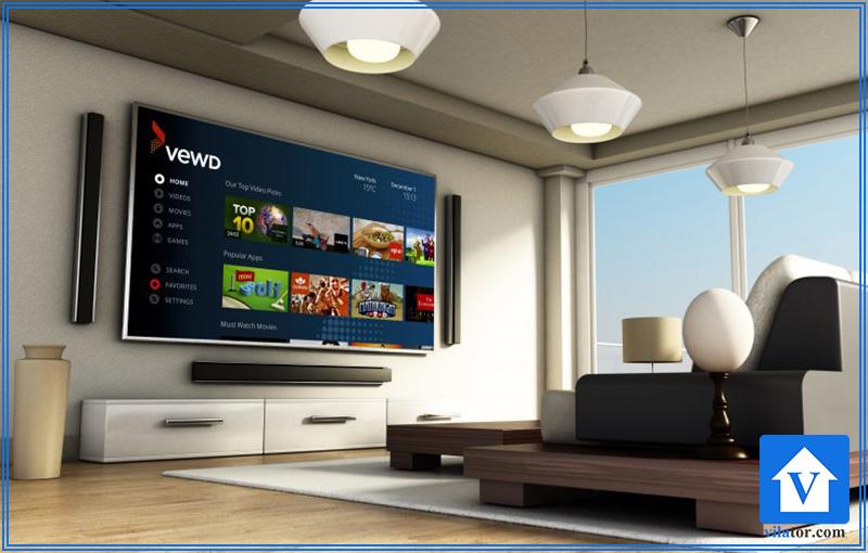 tv room مدرن