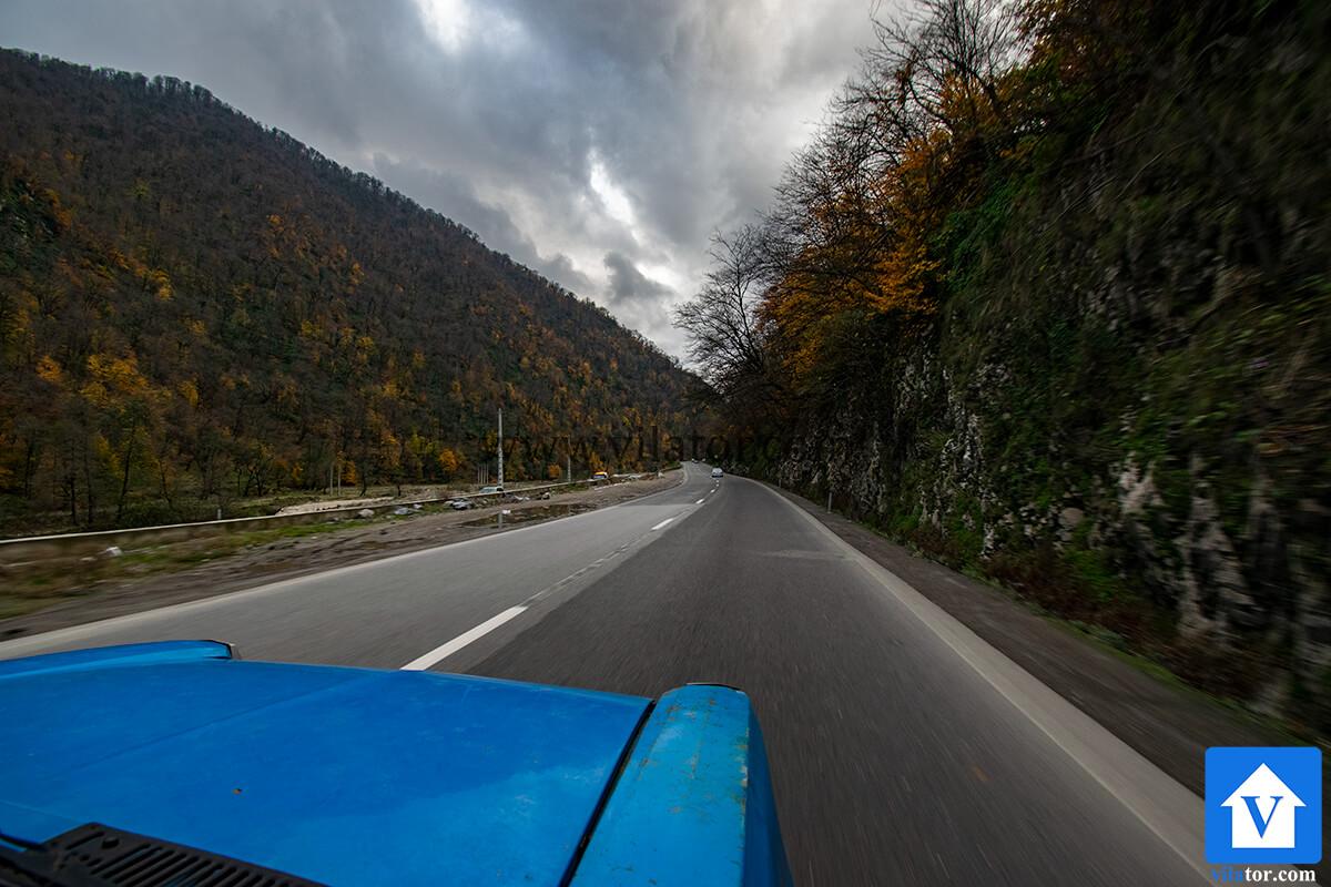 جاده هراز به چمستان