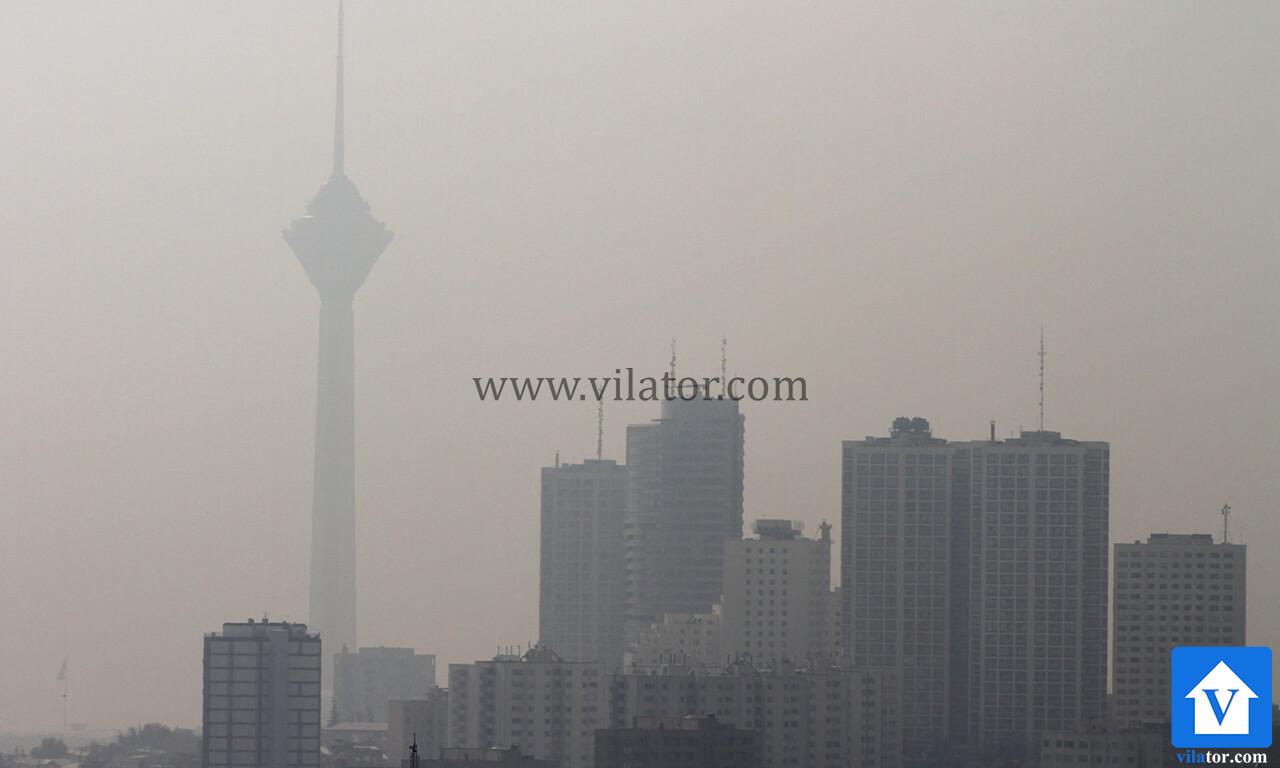 تهران زندگی ماشینی شهر آلوده