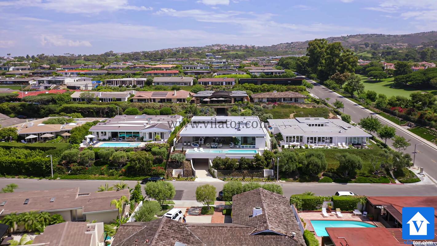 خرید ویلای مدرن 18 میلیون دلاری با منظره اقیانوس در کالیفرنیا (2)