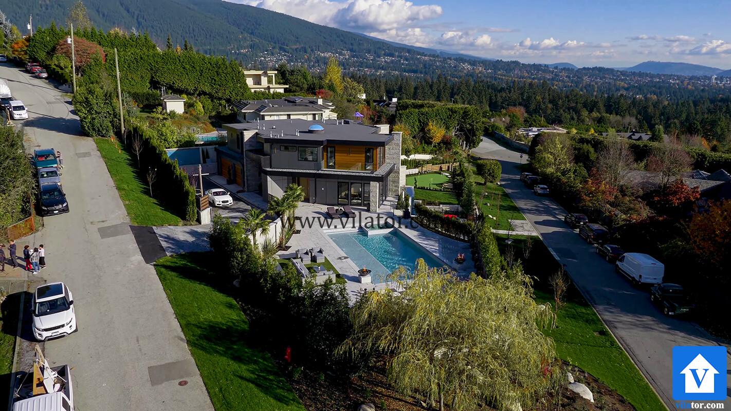 خرید ویلای 15 میلیون دلاری در ونکوور کانادا