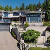 خرید ویلای مدرن ۸ میلیون دلاری در غرب ونکورد کانادا (۱)