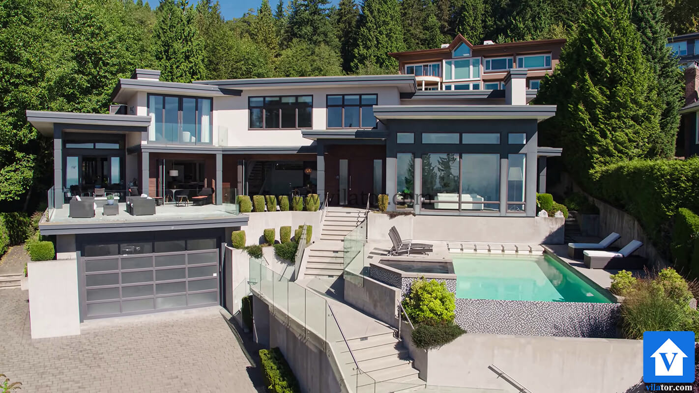 خرید ویلای مدرن 8 میلیون دلاری در غرب ونکورد کانادا (3)