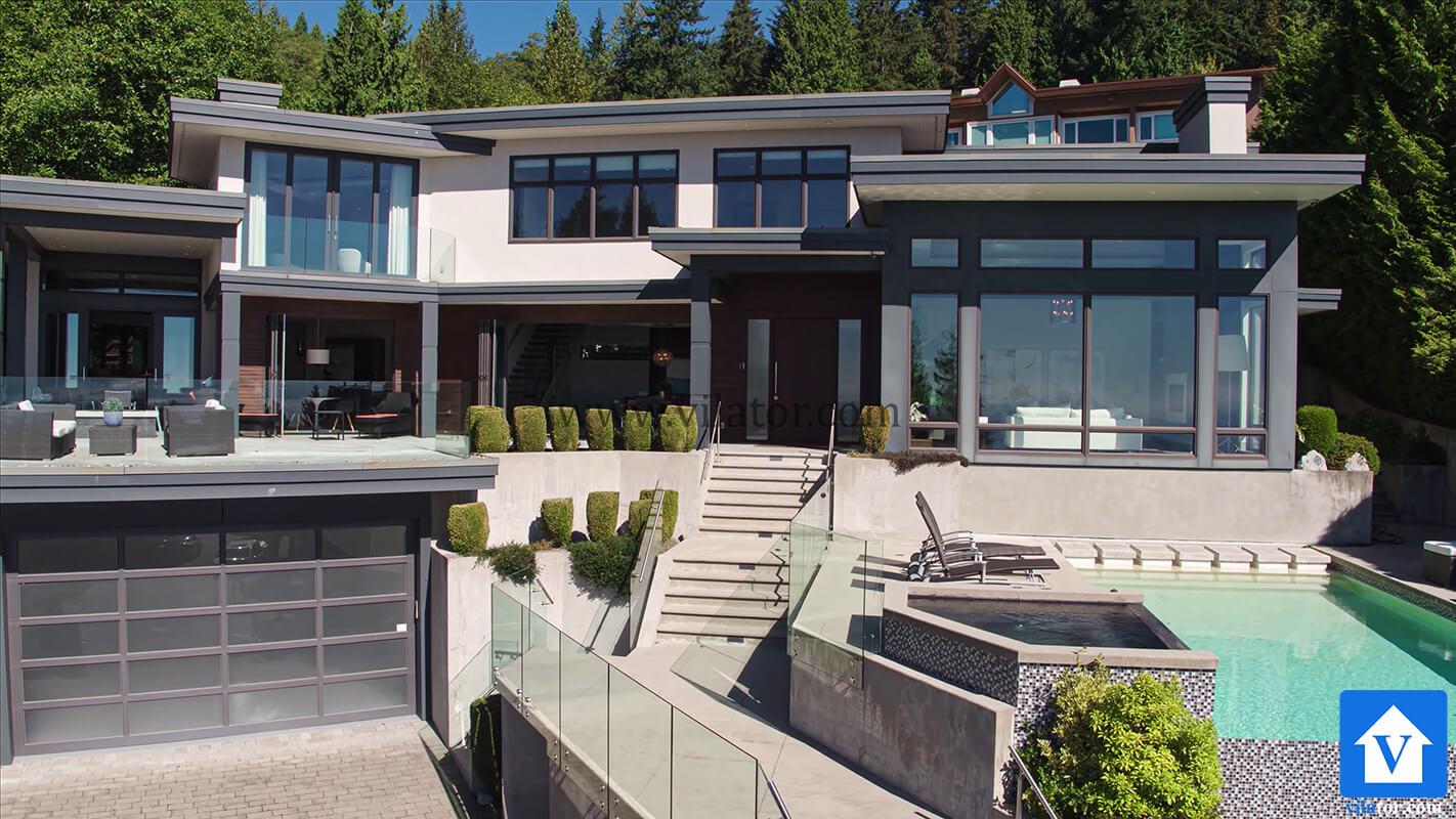 خرید ویلای مدرن 8 میلیون دلاری در غرب ونکورد کانادا (7)