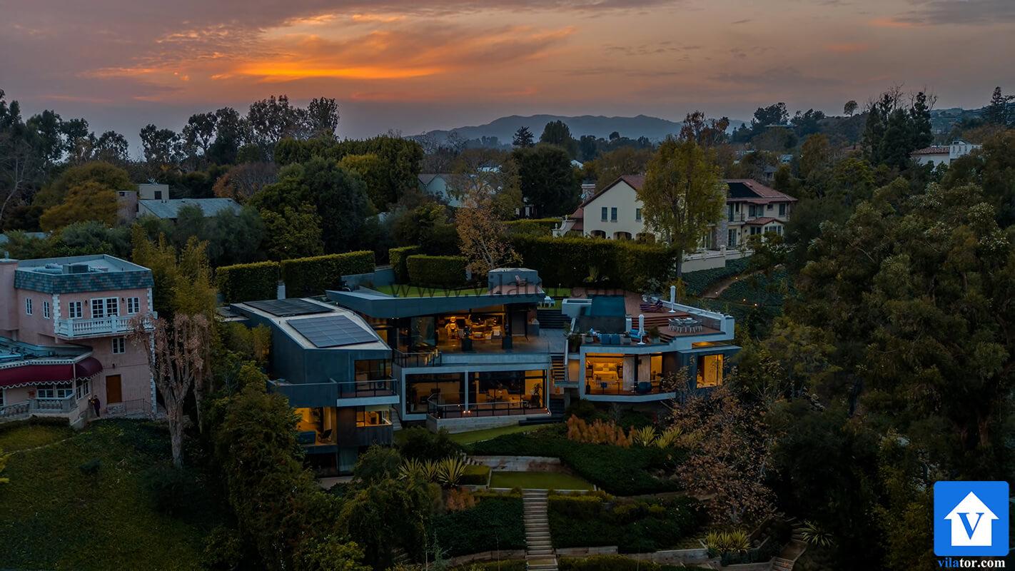 خرید ویلای 16 میلیون دلاری مدرن در لس آنجلس (1)